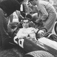 Reims 1966, French GP. Lorenzo Bandini , Ferrari 312.