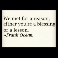 Blessing or lesson... Each client has to be either or both