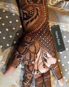 Khafif Mehndi Design, Stylish Mehndi Designs, Mehndi Designs For Girls, Mehndi Design Pictures, Wedding Mehndi Designs, Beautiful Henna Designs, Latest Mehndi Designs, Beautiful Mehndi, Mehndi Images