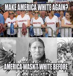 AMERICA WAS NEVER WHITE IN THE FIRST PLACE!!!