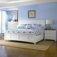 641.00 Magnussen Kentwood Panel Bed in White - King Magnussen https://www.amazon.com/dp/B00B9J1FJQ/ref=cm_sw_r_pi_dp_x_e61ryb00JPFBG