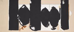 """<p>Robert Motherwell was a noted figure of the New York School, largely thanks to his role bringing """"automatic"""" drawing, a concept he had picked up from the Surrealists on his travels to Europe, to the attention of his peers. Painterly free association, coupled with existentialism, were the linchpins of Abstract …</p>"""