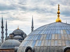 A historic crossroads of culture and design, Istanbul's landscape provides a prominent display of its two conquering empires. Travelers needn't look farther than the Blue Mosque or Hagia Sophia for the aesthetics central to both: the Byzantine dome and colored mosaics, and the Ottoman minarets and Islamic calligraphy. —Benita Hussain