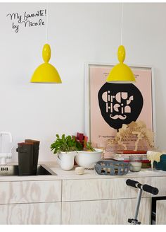 Geel in het interieur Interieur design by nicole & fleur