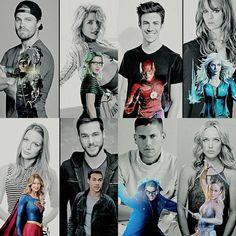 Supergirl, Flash, Arrow and more 😁 Superhero Shows, Superhero Memes, Comics Spiderman, Marvel Dc Comics, Avengers, Captain Canary, Molduras Vintage, Flash Funny, The Flash Grant Gustin