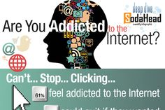 Psychology infographic & Advice Web Psychology Graphs Image Description Web Psychology Graphs The 'Are You Addicted to the Internet?' Infographic is Types Of Mental Illness, Mental Health Disorders, My Future Career, Psychology 101, Internet Usage, Brain Facts, Social Media Trends, Social Science, Self Confidence