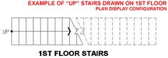 How to Draw Stairs On Floor Plans  #stairs Pinned by www.modlar.com