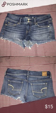 American Eagle denim shorts Denim shorts American Eagle Outfitters Shorts Jean Shorts
