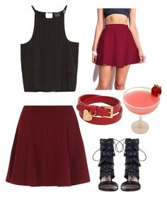 """Untitled #19"" by jelenavucetic13 ❤ liked on Polyvore featuring Zara, Zimmermann and Valentino"