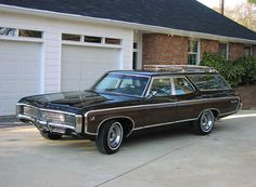1969 Chevrolet Kingswood Wagon