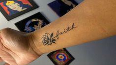 Chest Tattoos For Women, Back Tattoo Women, Cursive Tattoos, Women Of Faith, S Tattoo, Flower Tattoos, Tatting, Piercings, Tattoo Ideas