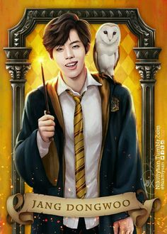Infinite Goes to Hogwarts by Nikittysan ∞ on ArtStation. Infinite Band, Infinite Songs, Kim Myungsoo, Infinite Members, Dong Woo, Kim Sung Kyu, Boy Idols, Kpop Drawings, Woollim Entertainment