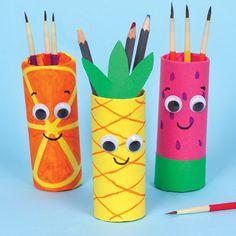 Summer Fruit Pen Pots | Free Craft Ideas | Baker Ross