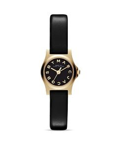 MARC JACOBS MARC BY Henry Dinky Watch, 21mm Jewelry   Accessories -  Bloomingdale s 0351f79d4a