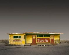 """The """"Desert Realty"""" project, from American photographer Ed Freeman, based in Boston, who captures isolated buildings in small towns and deserts of Southern Cali"""