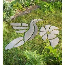 Decorative Hummingbird Stepping Stones