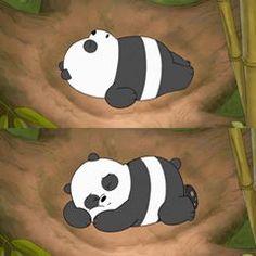 Tag someone who can sleep all day 🐼😴🖤 Cartoon Wallpaper Iphone, Bear Wallpaper, Cute Cartoon Wallpapers, Cute Wallpaper Backgrounds, Panda Love, Cute Panda, Panda Bear, Pardo Panda Y Polar, Cartoon Network