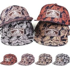 67b35148ef5 Paisley Snapback Bboy Mens Woman Hats Adjustable Korean Fashion Cap Style S-041   Paisley  HotPaisleySnapback