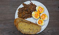 Jack Monroe's black pudding and carrot hash