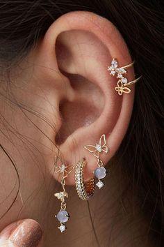 Ear Jewelry, Cute Jewelry, Body Jewelry, Jewelry Accessories, Jewelry Box, Jewelry Armoire, Jewlery, Jewelry Ideas, Jewelry Stores