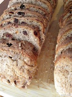 No-Knead Whole Wheat Bread via @Recipe.com makes home baking easy and delicious. (Try the Cinnamon Raisin version too!)