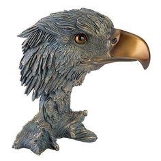 Profile Of Freedom Bald Eagle Statue