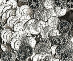 100 Belly Dance Costume Coins Costuming DIY Supplies S [Apparel] $6.95 #topseller