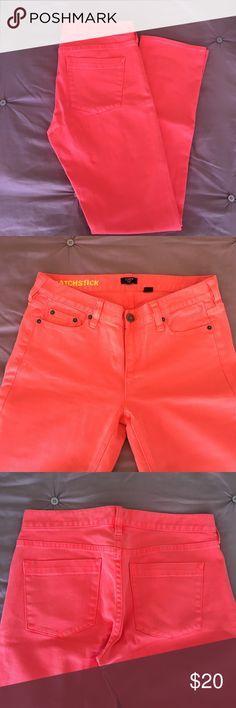 "J. Crew Matchstick Jeans EUC Straight Leg Matchstick Jeans. Inseam 31"" J.Crew Factory Jeans Straight Leg"
