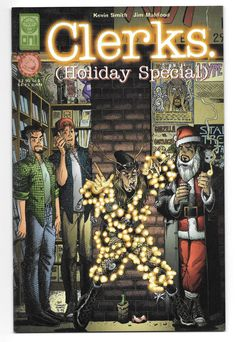 Clerks Holiday Special comic book Oni Press 1998 Jim Mahfood Kevin Smith