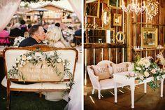 Ocho ideas para decorar la mesa de los novios en la boda