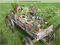 Great Miniature Garden Idea!