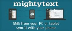 Easily Sync Android SMS with Gmail Using mightytext for Chrome
