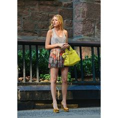 """The return of """"Gossip Girl"""" brings Blake Lively carrying 3.1 Phillip... ❤ liked on Polyvore"""