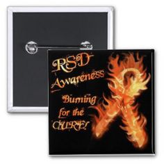 RSD/CRPS awareness Button
