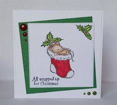 All wrapped up for Christmas | docrafts.com