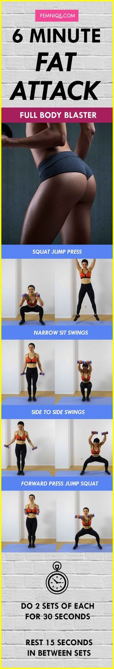 Total Body Workout: 6 Minutes To Incinerate Fat Get Lean & Strong! - Femniqe Total Body Workout: 6 Minutes To Incinerate Fat Get Lean & Strong! Key To Losing Weight, How To Lose Weight Fast, Weight Loss, Bffs, Besties Quotes, At Home Workouts, Gym Workouts, Workout Men, Workout Tips