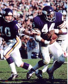 Fran Tarkenton & Chuck Foreman -Minnesota Vikings