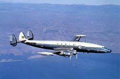 Aircraft: Lockheed Super Constellation Airplane (1955) | #aircraft UM dos aviões mais bonitos do séculoXX!
