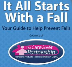 Get this FREE 20 page guide on how to prevent falls among the elderly.  It includes facts about falls, who is at risk, home safety, outdoor safety, personal safety tools, health tips and what to do after a fall.  The guide also includes 20 dollars in discounts on fall prevention products.
