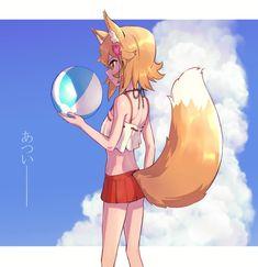 Se me ocurrió Lobo Anime, Anime Henti, Anime Furry, Anime Comics, Anime Art, Kawaii Neko Girl, Cute Neko Girl, Anime Girl Neko, Manga Girl