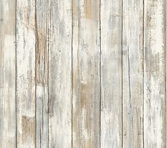 RoomMates Distressed Wood Peel & Stick Wall Decor