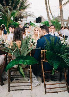 Photography: Sean Cook Wedding Photography - seancookweddings.com Read More on SMP: http://www.stylemepretty.com/destination-weddings/mexico-weddings/2016/10/07/elegant-tulum-wedding/
