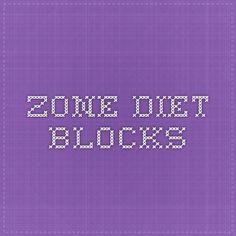 Zone Diet-Blocks