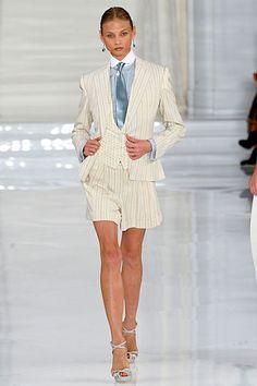 short suits, my love. ralph lauren nyfw
