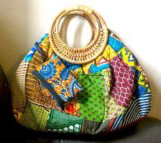 Ankara Handbag Handmade African Fabric Bag by AdaaraAccessories