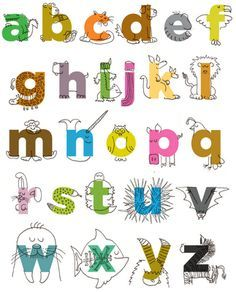 letters made into pictures - Google Search