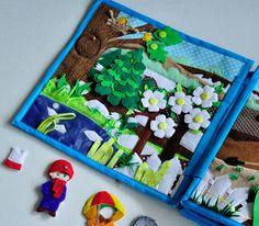 Развивающая книжка Времена года от пользователя «id1754935» на Babyblog.ru