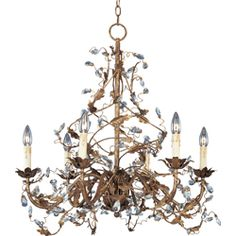 After a lesson in how to determine the proper size of a chandelier for a dining room (add the room length + width to calculate the proper diameter or width of your chandelier, then plan to have the lowest point of the chandelier 30 inches above the table for 8 foot ceilings, subtract 3 inches for each additional foot over 8 in room height). I'm going with this one!
