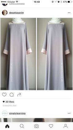 Gamis African Maxi Dresses, African Dresses For Women, Muslim Dress, Hijab Dress, Abaya Fashion, Fashion Dresses, Long Party Gowns, Moslem Fashion, Mode Abaya