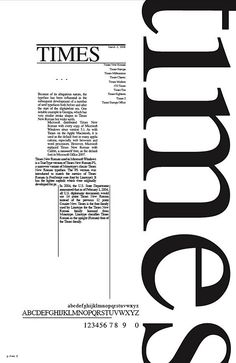 Times new roman poster. Interesting grid structure and use of typography Typo Poster, Typographic Poster, Times New Roman, Typo Logo, 3d Typography, Typography Design Layout, Web Design, Type Design, Logo Design